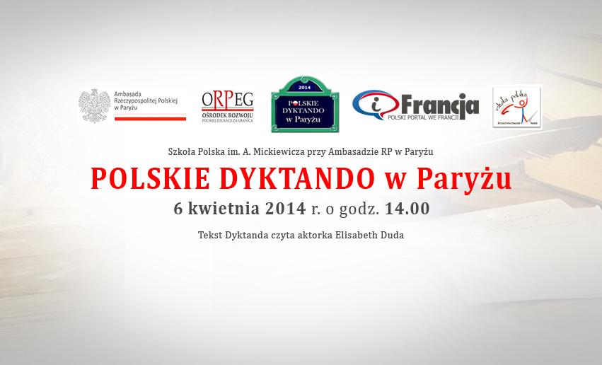 Polskie Dyktando w Paryżu