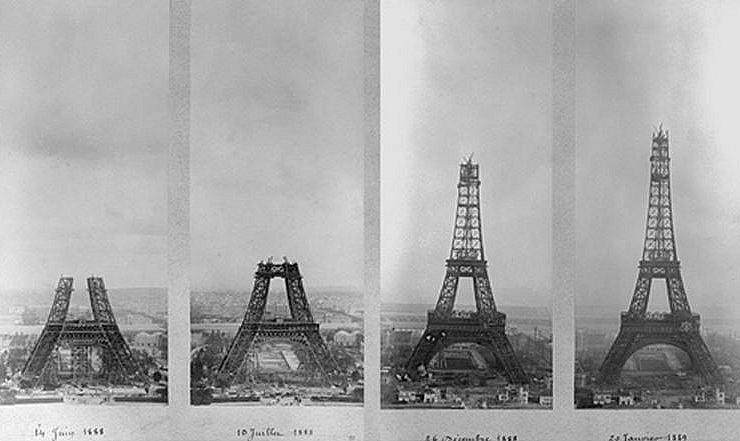 Dziś wieża Eiffla obchodzi 126 urodziny