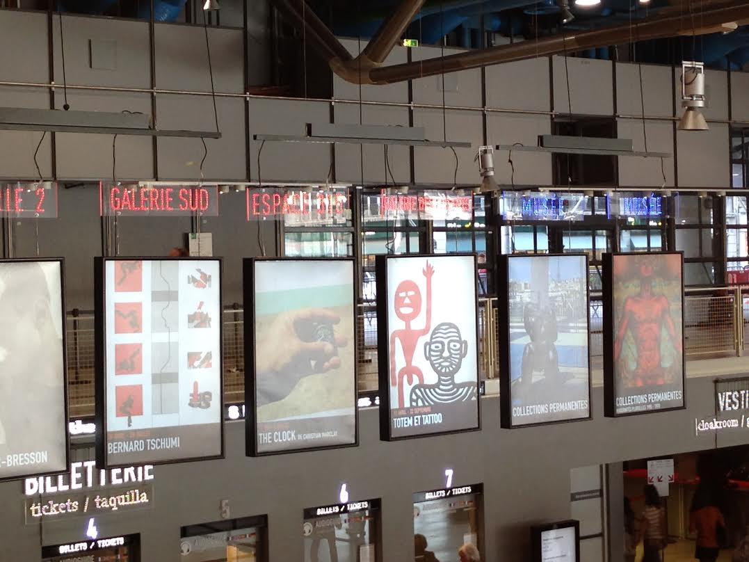 Czy Centrum Pompidou potrafi przyciągnąć francuskie dzieci?