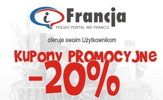 iFrancja oferuje swoim Użytkownikom kupony promocyjne!!!
