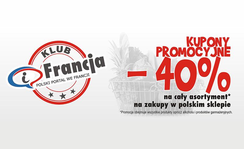 Klub iFrancja proponuje – 40% w polskim sklepie
