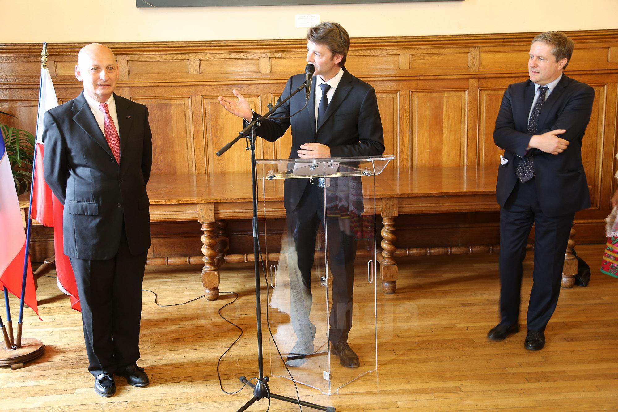 Inauguracja działalności Konsula Honorowego RP w Troyes