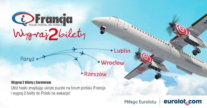 Konkurs iFrancja – Eurolot! Wakacje 2014
