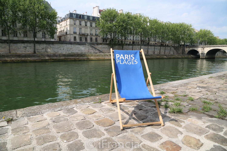 Wakacje w Paryżu – Paris Plages