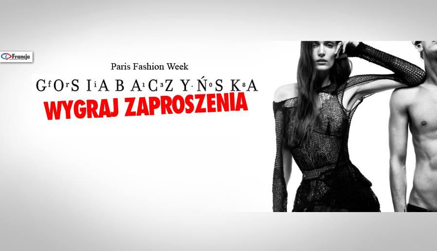 Wygraj zaproszenia na pokaz mody Gosi Baczyńskiej