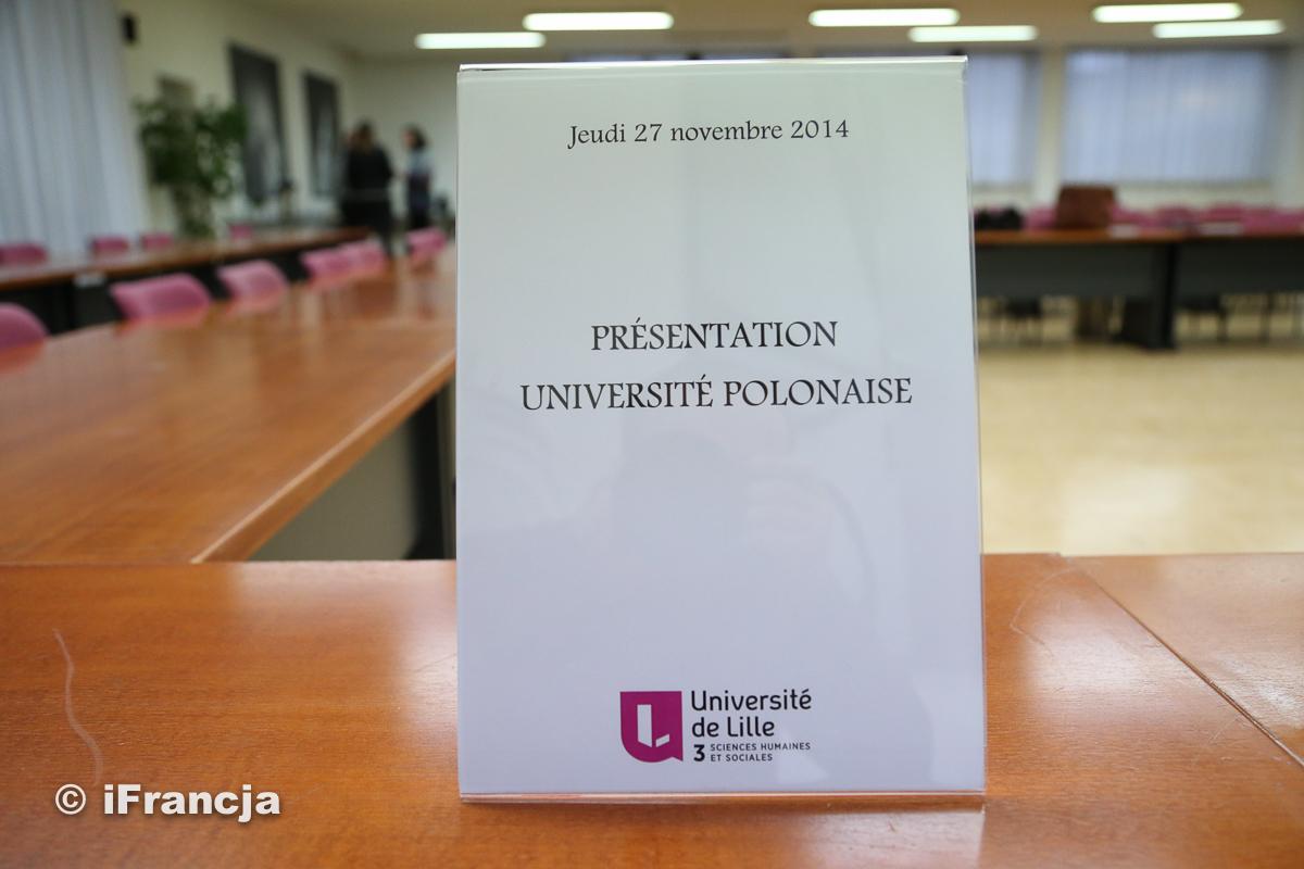 Polskie uczelnie w Lille