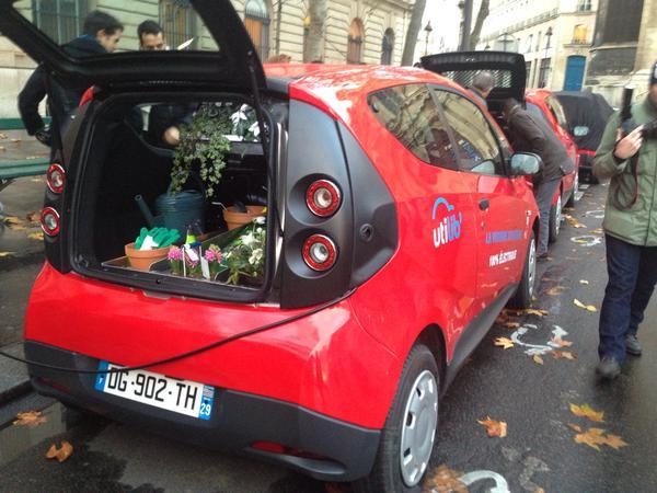 Utilib' – elektryczne auta utylitarne już do dyspozycji w Paryżu