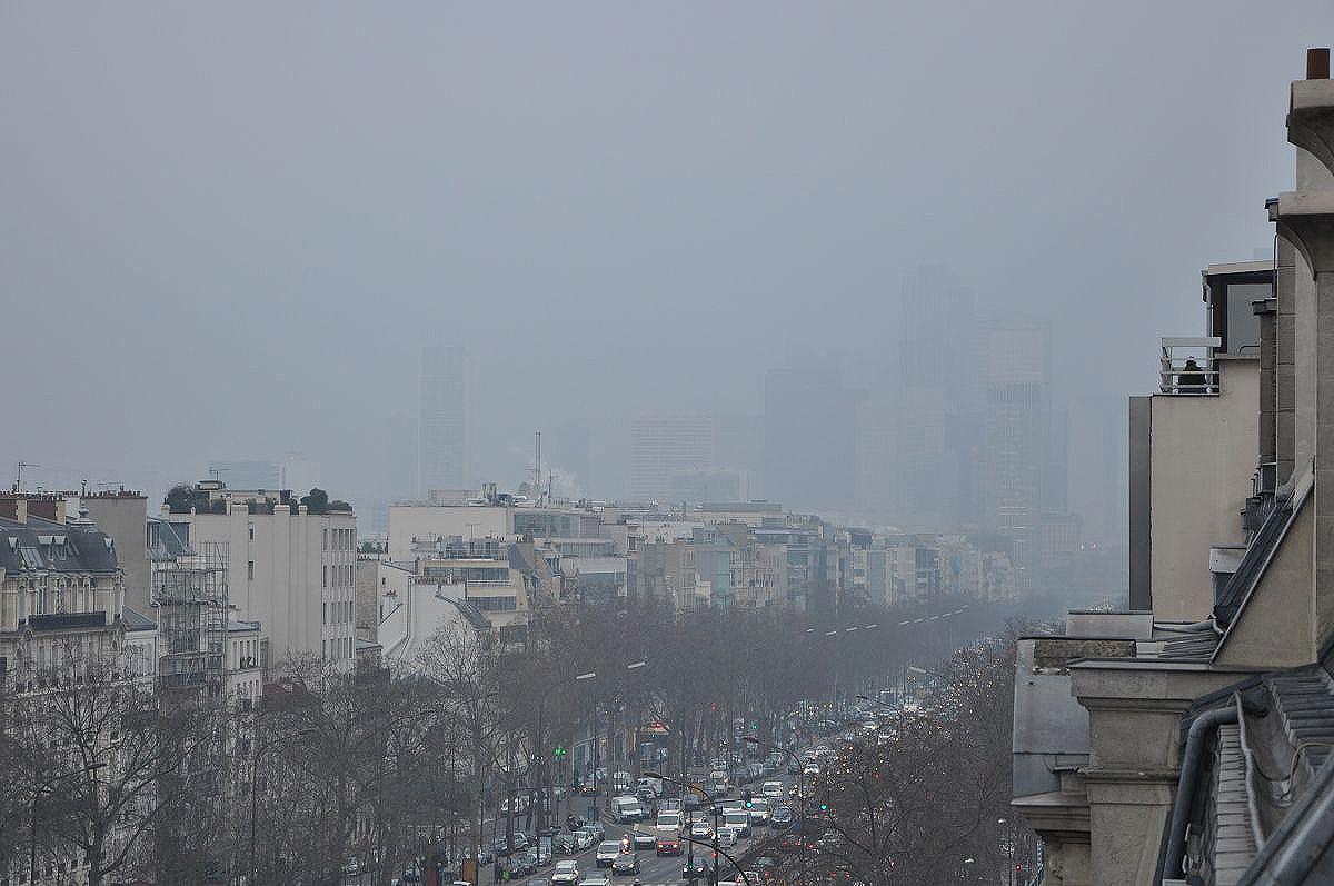 Wysokie zanieczyszczenie powietrza w Paryżu – aktualizacja 9 kwietnia