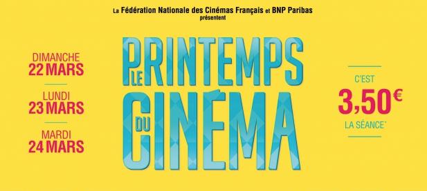 Film za 3,5 euro -Printemps du Cinéma-