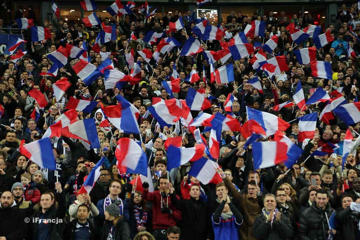 Fotoreportaż z meczu Francja : Brazylia