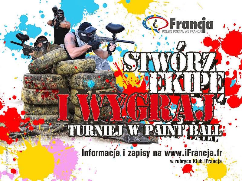 Turniej Paintball organizowany przez portal iFrancja