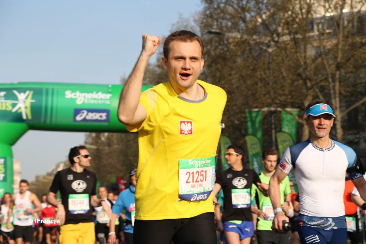 Maraton w Paryżu 2015 – Fotoreportaż