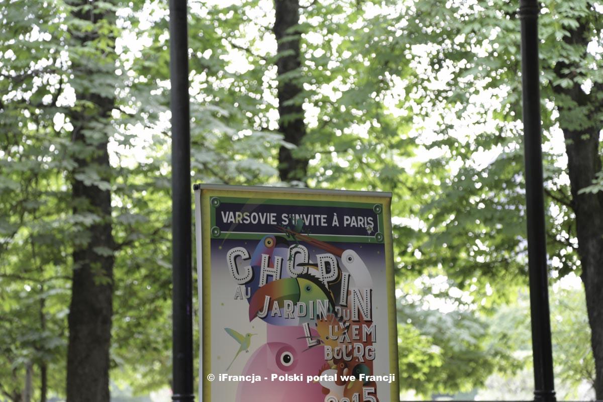 """Inauguracja plenerowych koncertów """"Chopin au jardin du Luxembourg"""""""
