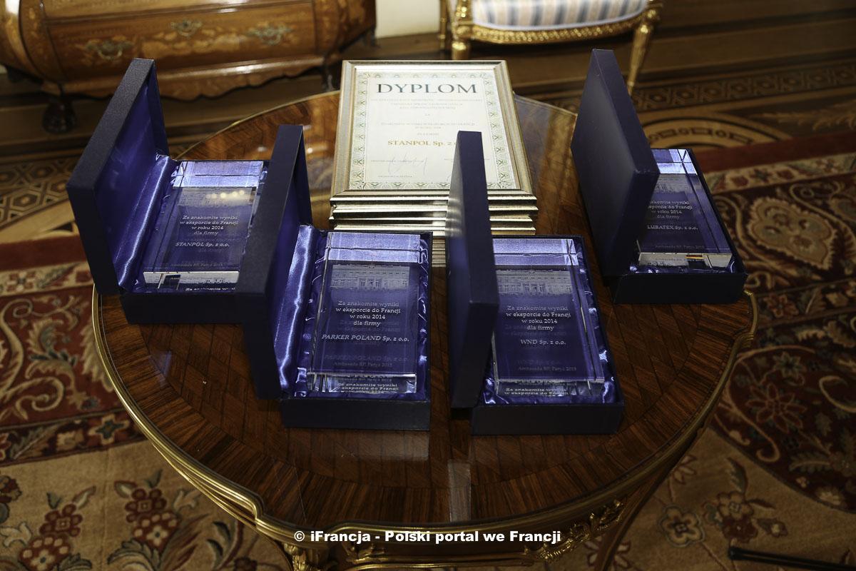 Gala 11. edycji konkursu na najlepszych eksporterów do Francji 2014