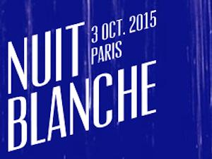 Nuit Blanche 2015 w Paryżu