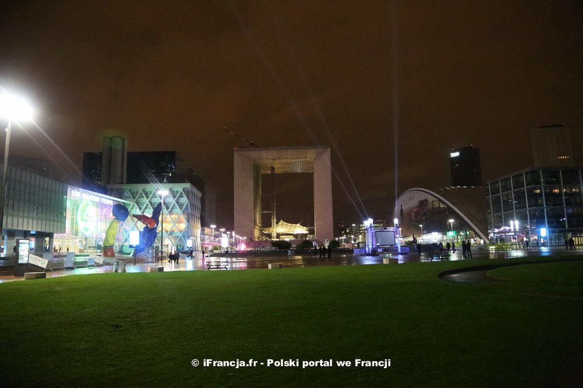 Miejskie noce na La Défense
