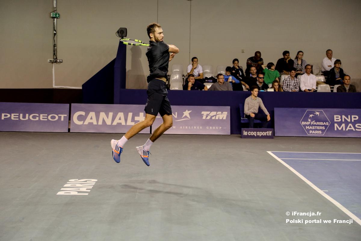 Janowicz w turnieju BNP Paribas w Paryżu – Fotoreportaż