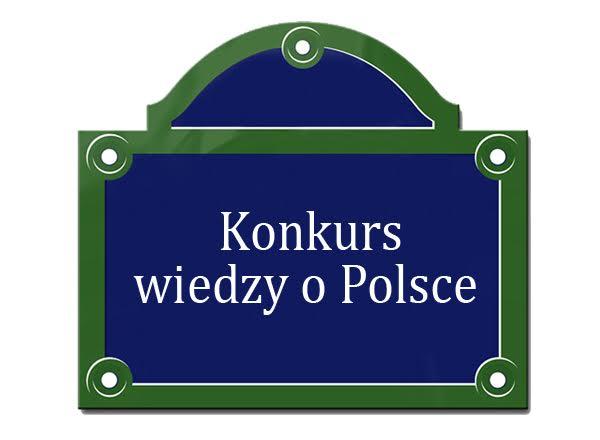 Konkurs wiedzy o Polsce (I edycja)
