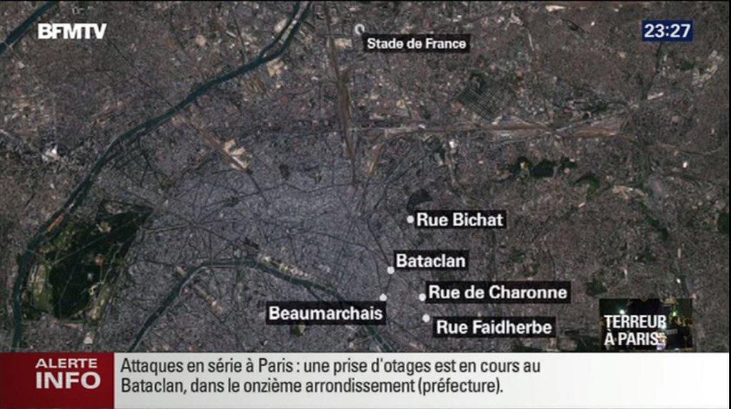 Strzelanina i eksplozje w Paryżu – Ostatnia aktualizacja 14/11/2015 godzina 08:19