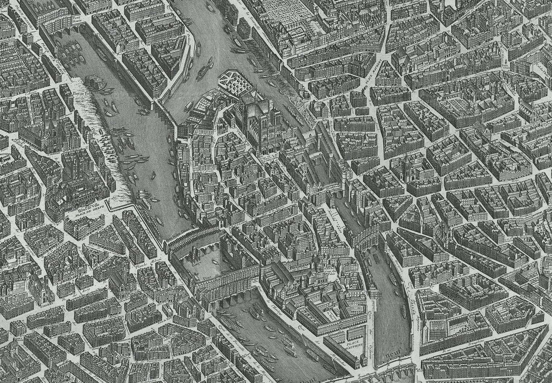 Jak wyglądał Paryż w latach 1734 i 1739
