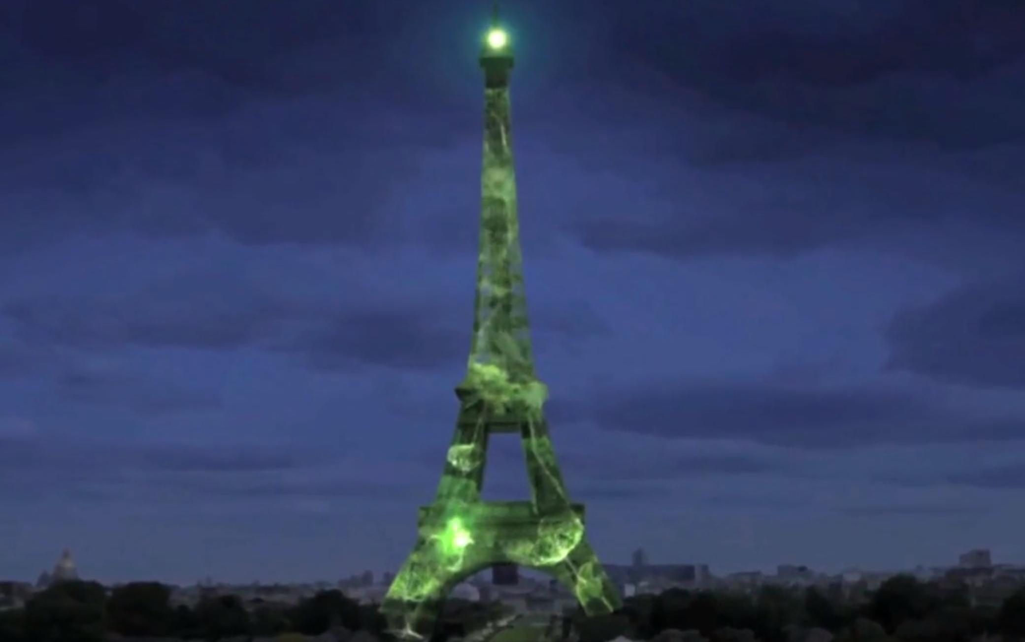 """Wieża Eiffla """"wesprze"""" konferencję klimatyczną COP21"""