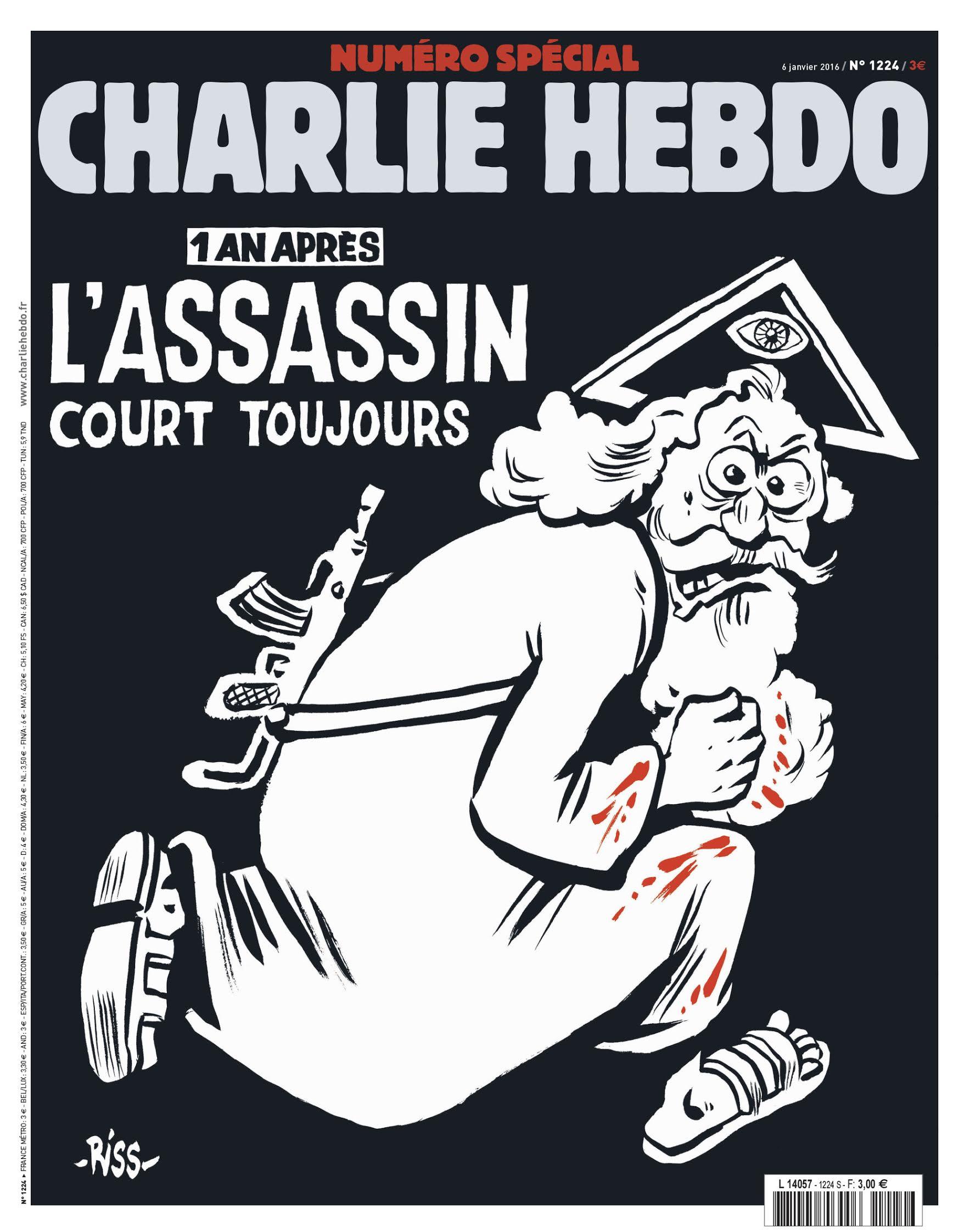 """Specjalne wydanie satyrycznego tygodnika """"Charlie Hebdo"""""""