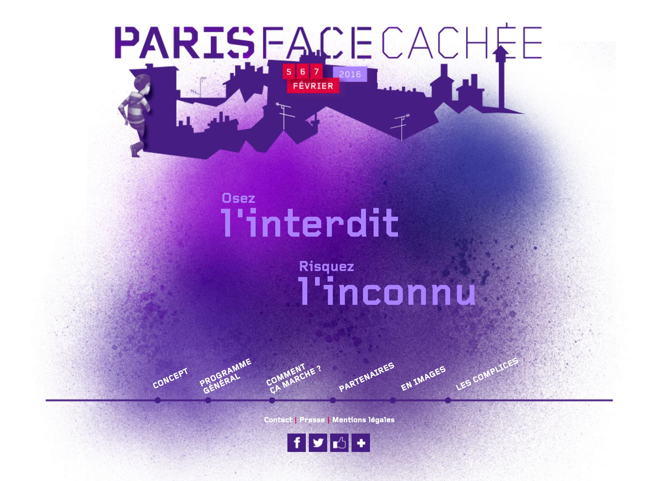 Paris face cachée – kolejna edycja