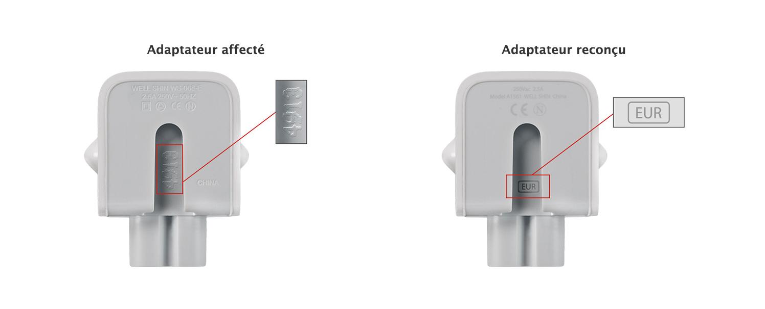 Wadliwe wtyczki Apple do wymiany – mogą porazić prądem