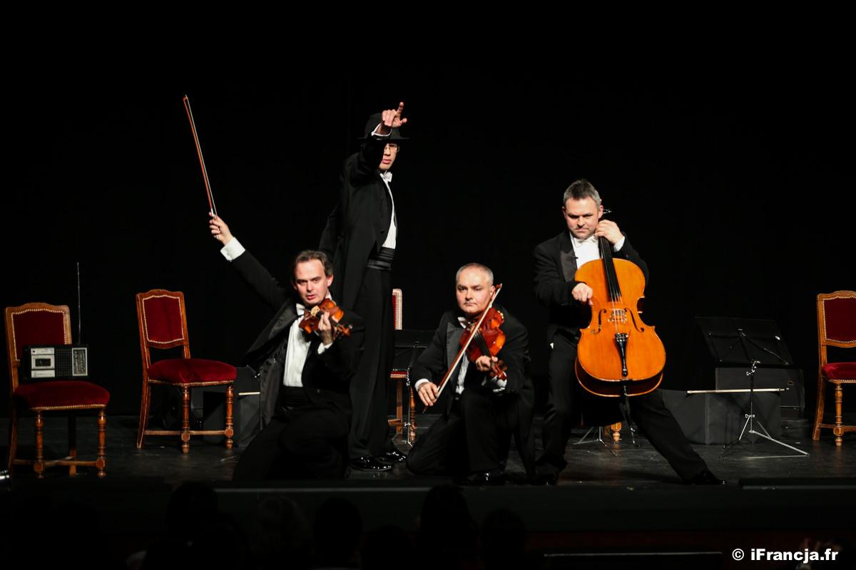 Premiera paryskich koncertów Grupy MoCarta (MozART group) w Teatrze Antoine – Fotoreportaż