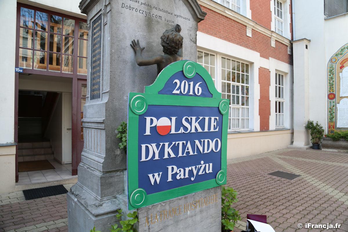Polskie dyktando w Paryżu – tekst