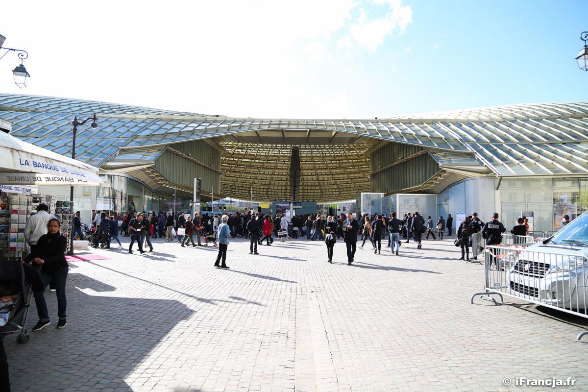 Forum des Halles w sercu Paryża, gotowe