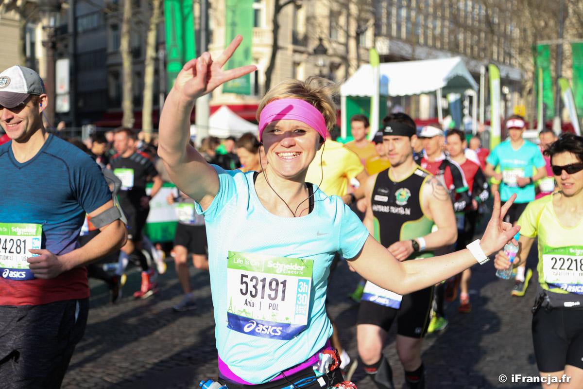 Maraton 2016 w Paryżu