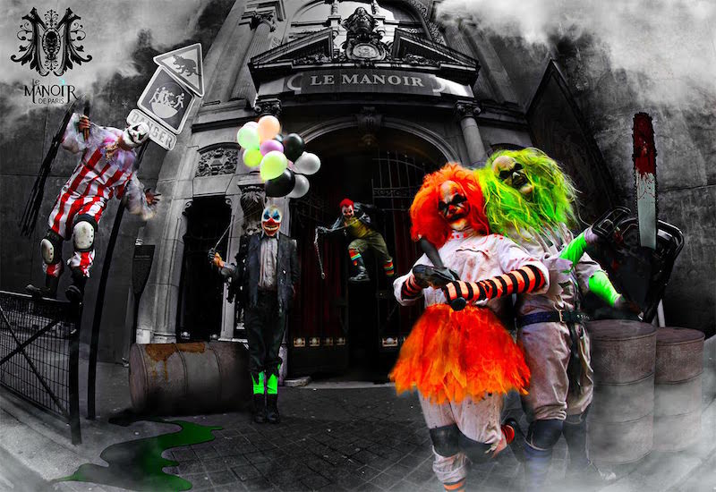 Manoir de Paris – dworek z przerażającymi mieszkańcami