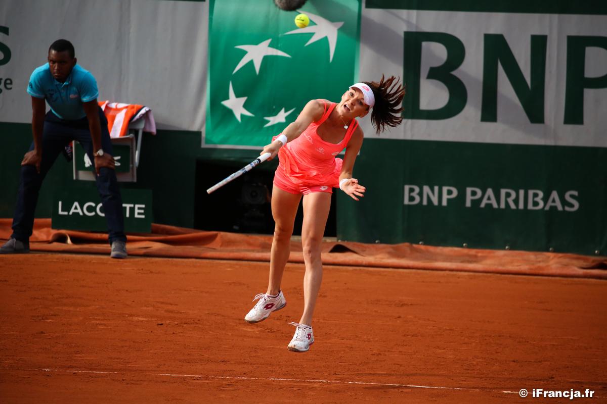 Roland Garros 4. dzień – Drugi mecz Agnieszki Radwańskiej – Fotoreportaż