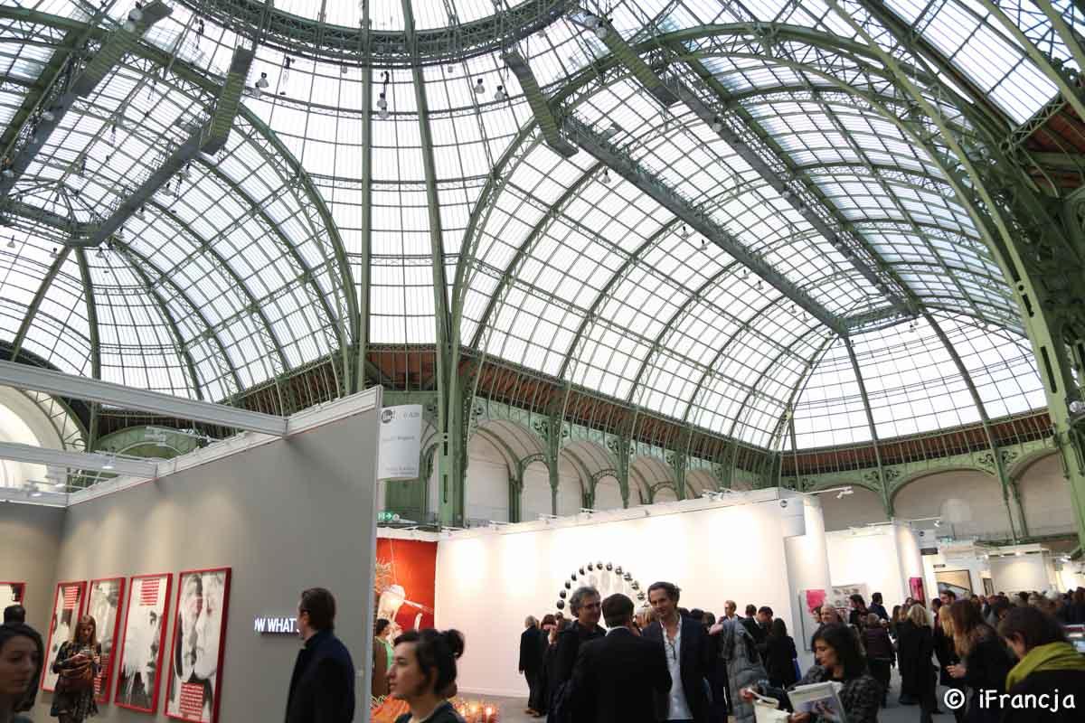 Fotoreportaż z Międzynarodowych Targów Sztuki Współczesnej (FIAC 2016)