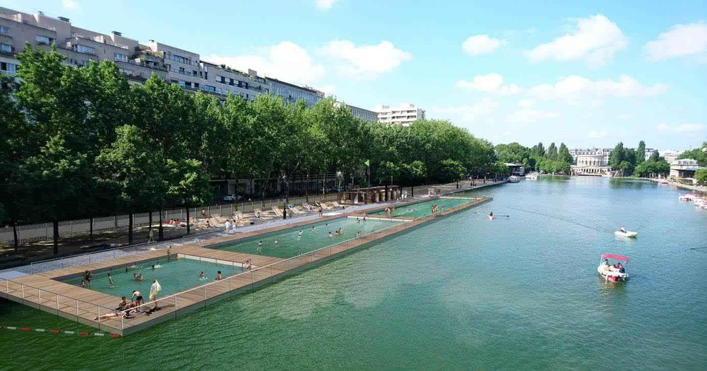 Kąpielisko w Bassin de La Villette już latem przyszłego roku
