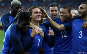 Francja : Hiszpania – mecz towarzyski