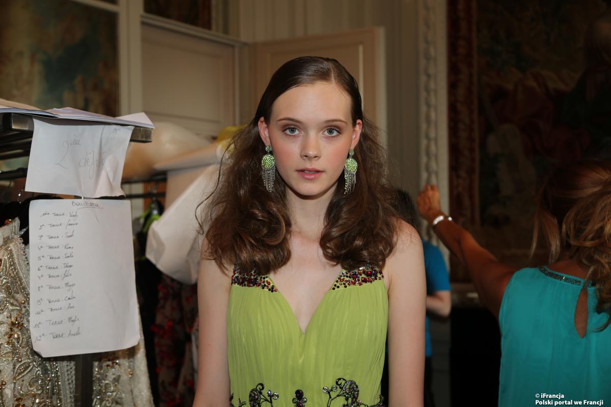 Oriental fashion show w hotelu Le Crillon