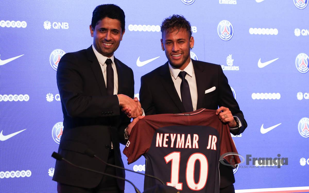 Neymar w Paris Saint Germain!