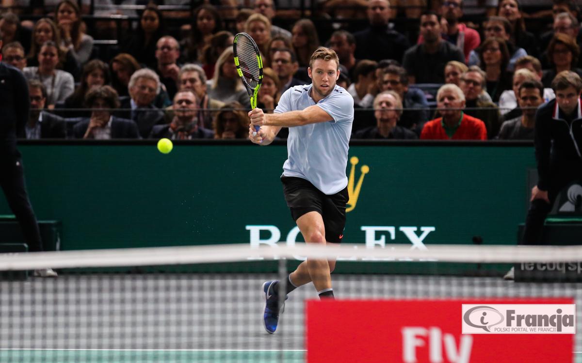 ATP – Rolex Paris Masters – Jack Sock wygrał ATP Masters w Paryżu