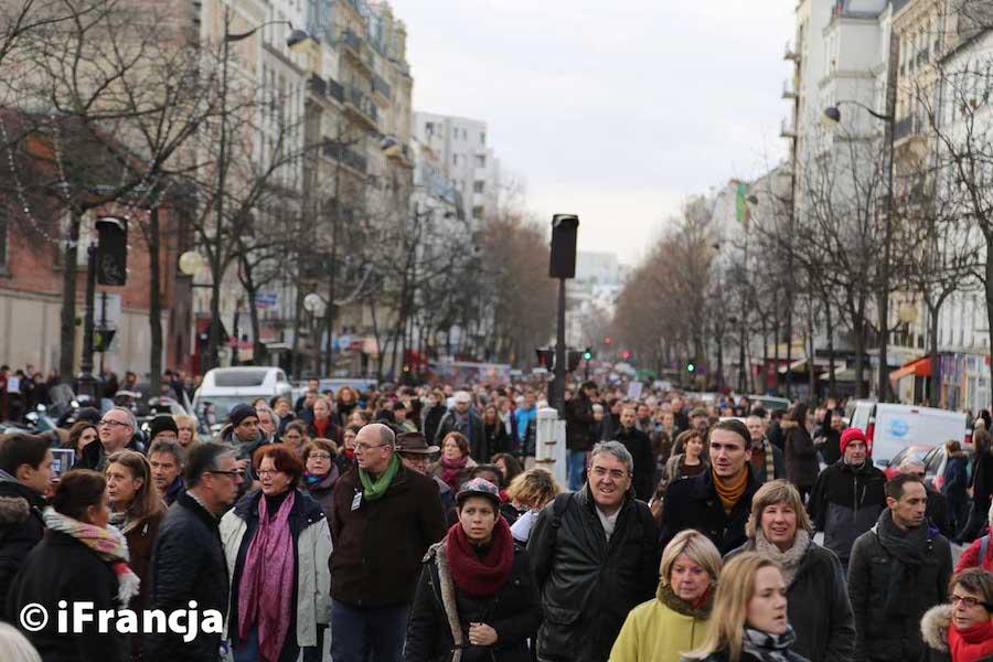 Marsz milczenia w Paryżu po morderstwie 85-letniej Żydówki