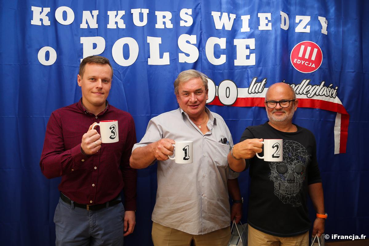 Fotorelacja i lista zwycięzców Konkursu Wiedzy o Polsce w Paryżu