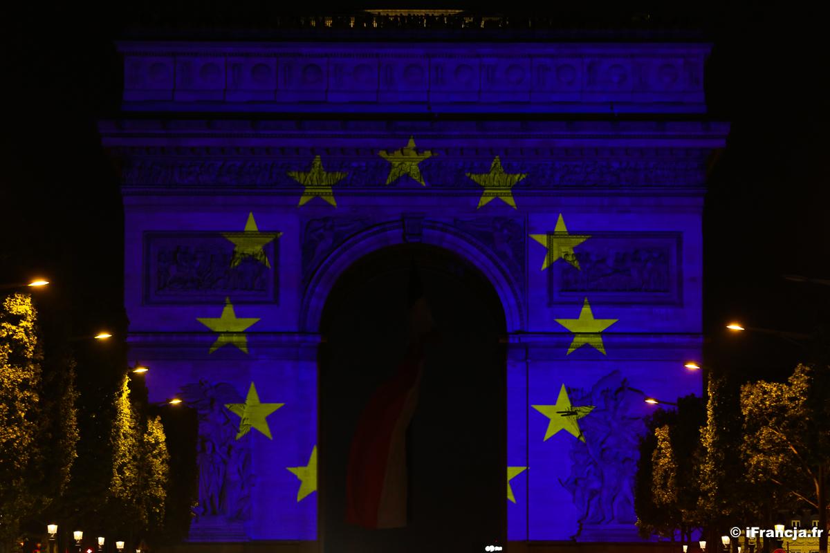 Obchody Dnia Europy w ten weekend przed paryskim ratuszem