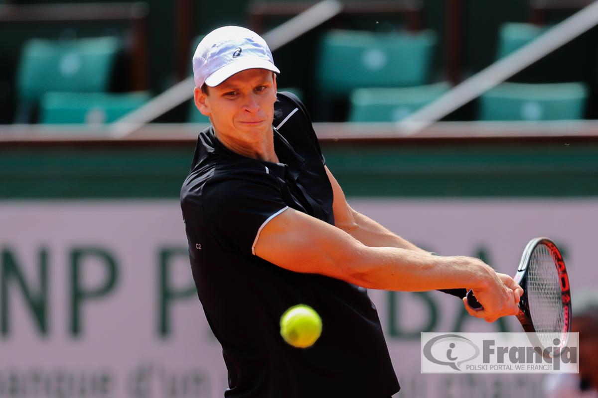 Hubert Hurkacz żegna się z turniejem Roland Garros