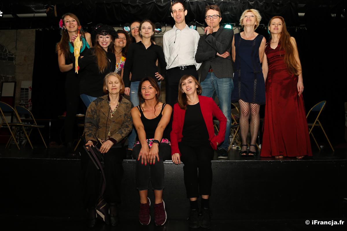 Warsztaty teatralne po polsku w Paryżu 2020/2021