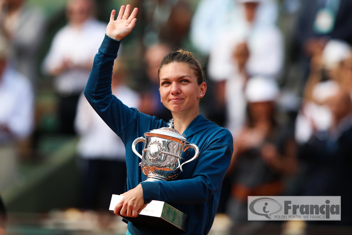 Rumunka Simona Halep wygrała turniej Roland Garros 2018!