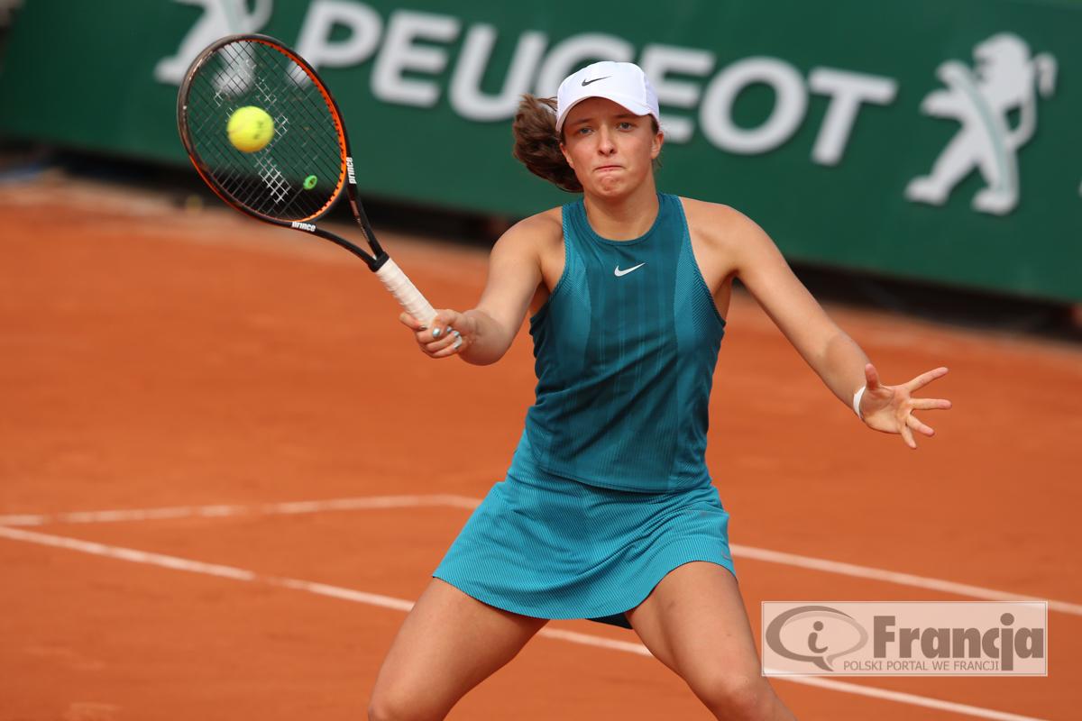 Iga Świątek mistrzynią Roland Garros w grze podwójnej juniorek