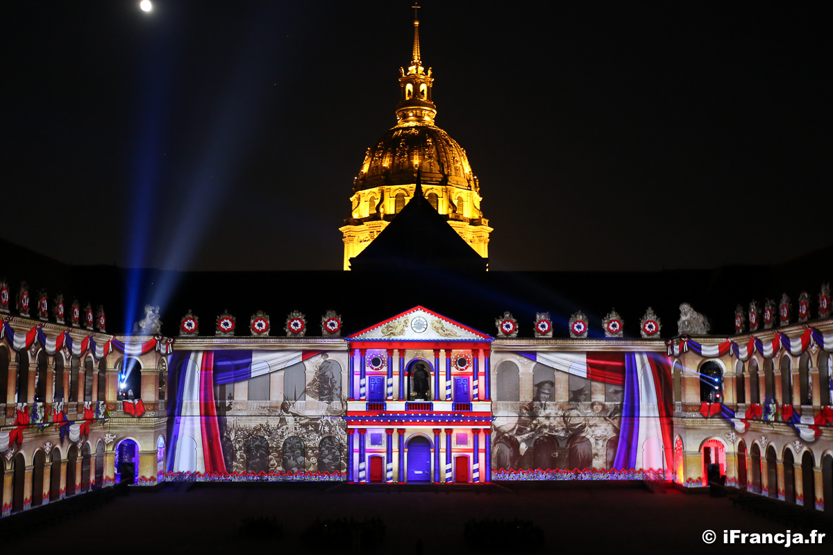 Noc w Pałacu Inwalidów