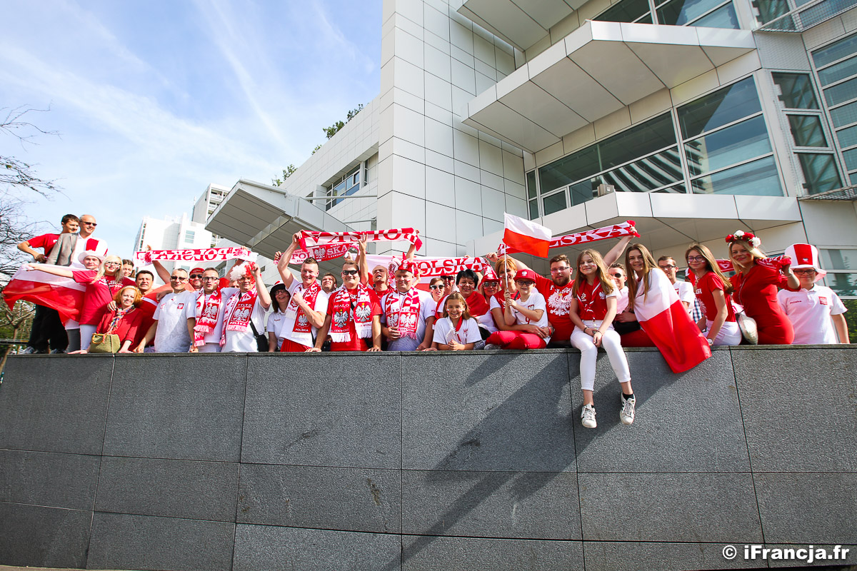 Polska : Kolumbie – Kibice