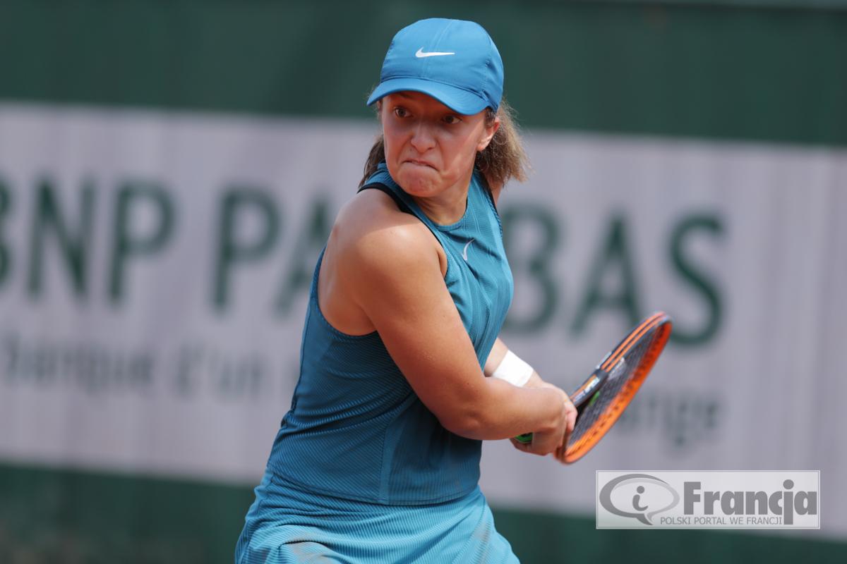 Iga Świątek awansowała do 1/2 finału juniorskiego Roland Garros!!!